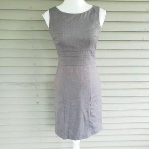 H&M Gray Career Sheath Dress Size 6